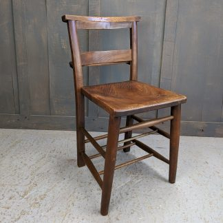 St Hilda's Leeds 1882 Elm & Beech Square Seated Church Chapel Chairs