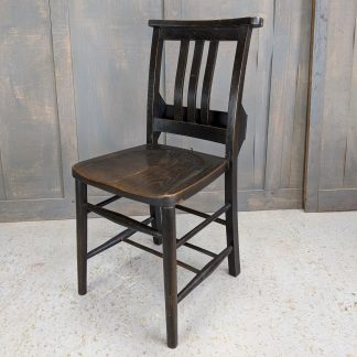 St Alban's Dark Elm & Beech Slatback Church Chapel Chairs