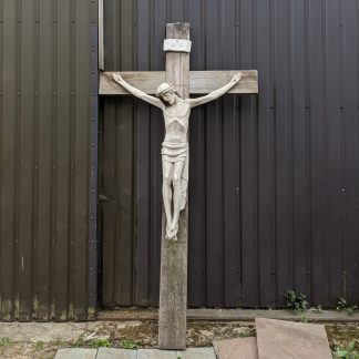 Large Exterior Church Crucifix from St Stephen the Martyr, Hull