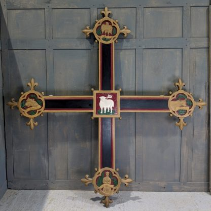 Original Decorative Rood Cross from St Stephen the Martyr, Hull