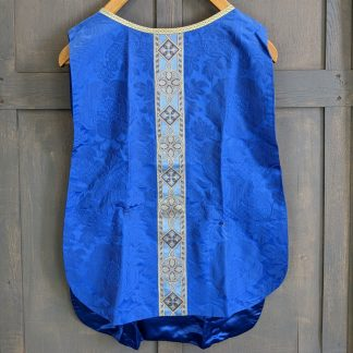 'Servers Tunic Royal Blue' with Gold Detail