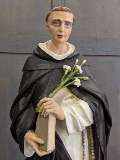 Medium to Large Recently Restored Religious Statue of St Dominic