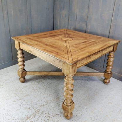 Lovely Square Table with Inlaid Top