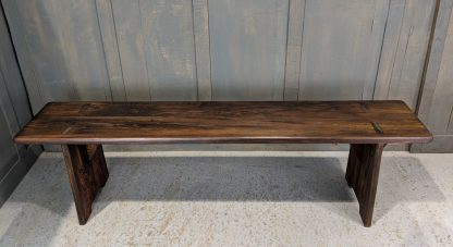 Made to Measure Oak Bench Made from Old Church Pew Seats from Brownshills Baptist Church