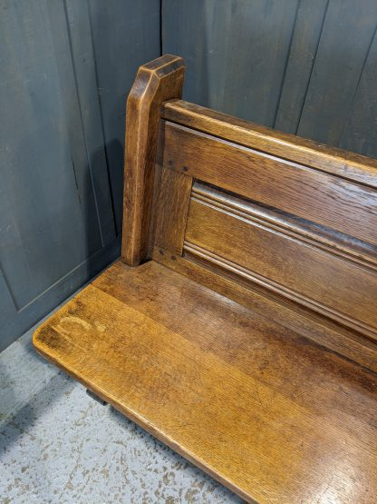 St Margaret the Queen 1900's Antique Oak 'Y' Ended Church Benches Pews