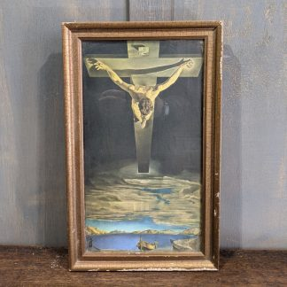 Small Print of Christ by St John of the Cross by Salvador Dali