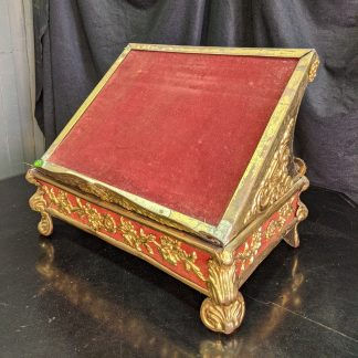 Ornate & Striking Antique 19th Century French Missal Stand