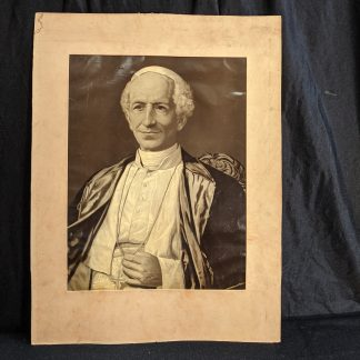 Large Unframed Print of Pope Leo XIII the 'Rosary Pope' 1878-1903