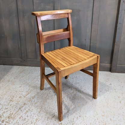 1960's Vintage Extra Strong Church Chapel Chairs from St George's Army Church