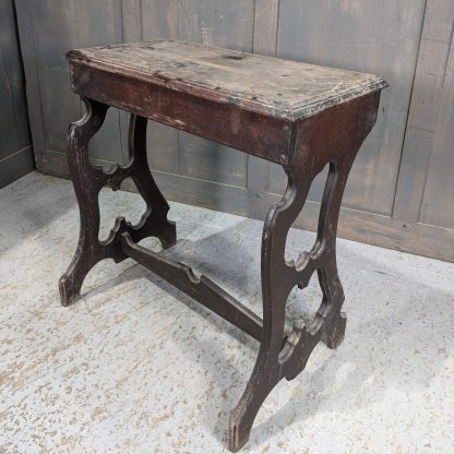 'Crypt Find' Antique Very Dusty Mahogany Organist/Piano Stool Project