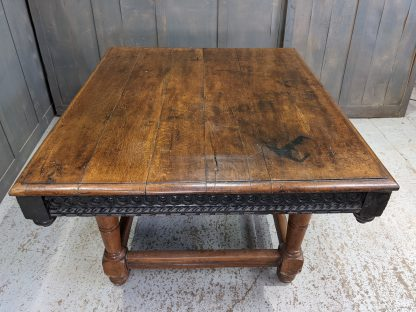 Old & Very Old Antique Oak Refectory Dining Altar Table