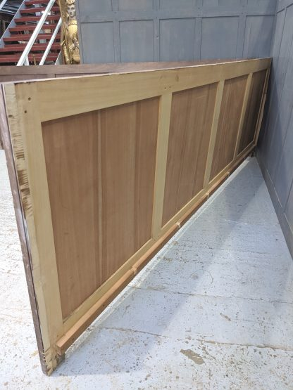 Two Large Vintage Oak Veneer Panels Panelling from a Massive Frontal Chest