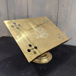 Classic Victorian Styled Brass Church Missal Stand Table Lectern Book Rest