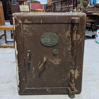 Compact yet Immensely Heavy Antique Ratner 'Fire & Theft Resistant' Safe