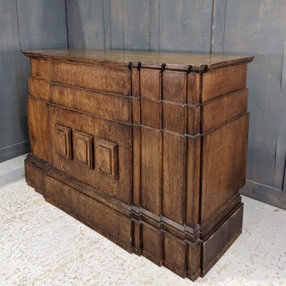 Smaller Size Art Deco Oak Altar Table from St George's Bournemouth